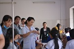 Trên 50 học sinh ở Long An nhập viện nghi ngộ độc thực phẩm
