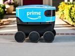 Amazon thử nghiệm dịch vụ giao hàng bằng người máy