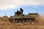Những phần tử IS cuối cùng đang bị bao vây tại một ngôi làng miền Đông Syria