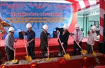Khởi công phục dựng Nhà làm việc Bộ ngoại giao của Di tích Trụ sở Chính phủ Cách mạng lâm thời CH miền Nam Việt Nam