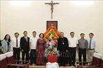 Trưởng ban Dân vận Trung ương Trương Thị Mai chúc mừng Tòa Tổng giám mục Hà Nội