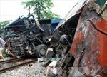 Va chạm với tàu hỏa, tài xế xe tải tử vong trong ca bin