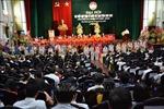 Ông Đoàn Văn Hùng tái cử Chủ tịch Ủy ban Mặt trận Tổ quốc tỉnh Nam Định