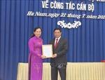 Đồng chí Lê Thị Thủy giữ chức Bí thư Tỉnh ủy Hà Nam