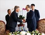 Bí thư Thành ủy TP Hồ Chí Minh tiếp Bí thư toàn quốc Đảng Cộng sản Pháp