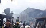 Hỏa hoạn thiêu rụi 5 căn nhà hộ nghèo ở huyện biên giới An Phú, An Giang