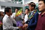 Nghệ An tổ chức lễ đón học sinh đoạt Huy chương Bạc Olympic Toán học quốc tế