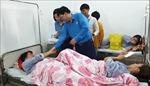 Thăm hỏi, động viên công nhân Công ty Golden Victory Việt Nam bị ngộ độc khí