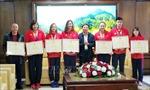 Quảng Ninh khen thưởng các vận động viên, huấn luyện viên đạt thành tích cao