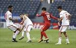 UAE và Jordan mới một lần duy nhất hòa nhau có bàn thắng trong lịch sử