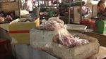 Phát hiện hơn 200 kg thịt lợn thiu thối tại chợ Đồng Xoài