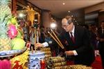 Trang trọng Lễ dâng cúng bánh tét lên Quốc tổ Hùng Vương tại TP Hồ Chí Minh