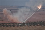 Các lực lượng Thổ Nhĩ Kỳ bắn hạ trực thăng của Syria, 2 phi công thiệt mạng