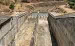Nhiều hồ chứa tại Ninh Thuận cạn trơ đáy