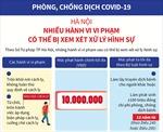 Phòng, chống dịch COVID-19, Hà Nội: Nhiều hành vi vi phạm có thể bị xem xét xử lý hình sự