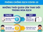 Những thói quen cần thay đổi trong mùa dịch COVID-19