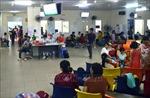 Nhiều trẻ nhập viện do thời tiết nắng nóng kéo dài