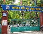 Ninh Bình: Việc dạy và học tại Trường Tiểu học Đông Thành diễn ra bình thường