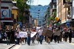 Phong trào biểu tình chống phân biệt chủng tộc ở Mỹ lan sang Thụy Sĩ