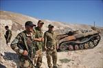 IS gia tăng tấn công tại khu vực sa mạc ở Syria