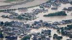 Điện thăm hỏi về mưa lớn kéo dài tại Nhật Bản