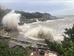 Bão Hagupit gây ngập lụt tại Thượng Hải, Trung Quốc