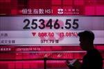 Căng thẳng Mỹ-Trung đẩy chứng khoán châu Á vào 'vùng đỏ'