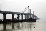 Gỡ khó để hoàn thành cầu Cửa Hội nối Nghệ An - Hà Tĩnh