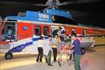 Hai bệnh nhân được đưa từ Trường Sa về đất liền cấp cứu an toàn