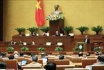 Thông cáo báo chí số 06, Kỳ họp thứ 10, Quốc hội khóa XIV