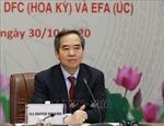 Hội đàm với Nhóm ba tổ chức tài chính phát triển của Chính phủ Nhật Bản, Hoa Kỳ, Australia