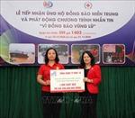 Cứu trợ khẩn cấp bước đầu tiền và hàng tới các gia đình bị thiệt hại