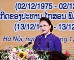Chủ tịch Quốc hội dự Lễ kỷ niệm 45 năm Quốc khánh Lào và 100 năm Ngày sinh Chủ tịch Kaysone Phomvihane
