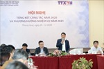 TTXVN tổng kết công tác năm 2020 và phương hướng nhiệm vụ năm 2021