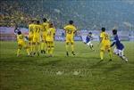 V.League 2021: Câu lạc bộ Nam Định thắng đậm Hà Nội trên sân nhà