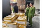 Thanh Hóa: Phát hiện xe tải vận chuyển cá khoai ướp phóc-môn