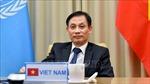 Thứ trưởng Lê Hoài Trung: Bảo vệ lợi ích quốc gia - dân tộc, đóng góp duy trì hòa bình và an ninh quốc tế