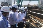 Công trình Cải tạo cụm nút giao thông phía Tây cầu Trần Thị Lý chậm tiến độ