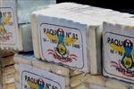 Bắt giữ máy có xuất xứ từ Peru chở gần 380 kg ma túy