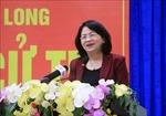 Phó Chủ tịch nước tiếp xúc cử tri tại Vĩnh Long