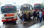 Các xe tuyến cố định đường 7 hoạt động phục vụ khách trở lại bình thường