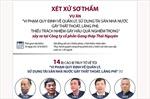 Xét xử sơ thẩm vụ án xảy ra tại Công ty cổ phần Gang thép Thái Nguyên