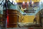 Hải Phòng thông tin về vụ bắt giữ đối tượng ném mìn tự chế vào tiệm vàng