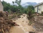 Lào Cai: Lũ ống tràn qua, phá hủy nhiều công trình nhà ở ven suối
