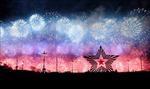 Pháo hoa rợp trời Moskva kỷ niệm 76 năm Ngày Chiến thắng phát-xít