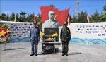 Trang nghiêm tượng đài Đại tướng Võ Nguyên Giáp trên quần đảo Trường Sa
