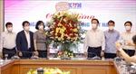 Trưởng Ban Tuyên giáo Trung ương chúc mừng TTXVN nhân Ngày 21/6