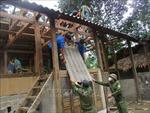 Thanh Hóa: Di dời người dân vùng nguy cơ sạt lở đến nơi an toàn
