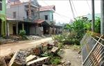 Thái Bình: Hàng trăm hộ dân tự nguyện góp đất làm đường giao thông