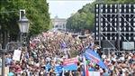 Cảnh sát Đức bắt giữ hàng trăm người biểu tình quá khích ở Berlin